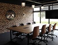 Interior design for Future Processing - Silesia style
