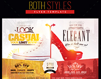 Both Styles Flyer Template