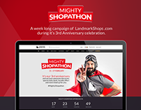 Mighty Shophaton Campaign for LandmarkShops.com