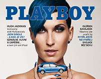 Playboy CZ 2014 Aug Playmate Zuzana