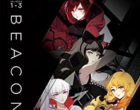 RWBY Volume 1-3 Beacon Steelbook