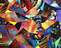 Spray Paint Collage