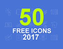 50+ Best Free Icons of 2017