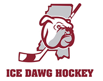 Ice Dawgs logo design