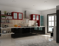 Parallel Reino Modular Kitchen on CapriCoast