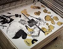 Seascape II by Stefanos Rokos / Silkscreen Print