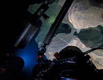 VIDEO: underwater 4K video cave diving in Oliero