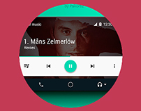 Mockup Android auto / download free