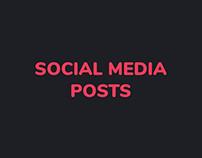 Socia Media Posts