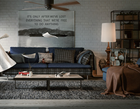 loft design living room