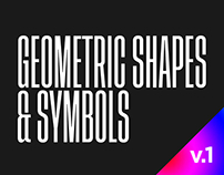 Geometric Shapes & Symbols [Vol. 1]