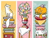 Bookmarks (8th march & 23th february souvenirs)