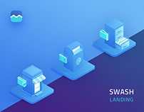 Swash - Marketing Platform Landing Page