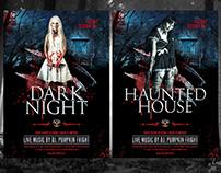 Dark Night Flyer Template