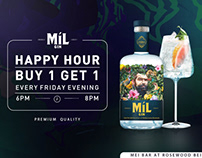mil gin happy hour