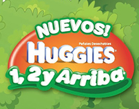 POP - Huggies 1, 2 y Arriba