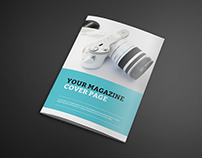 Photorealistic Catalogue Magazine Mock-up FREE