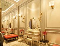 Title: Bridal Room Interior Location: Lahore