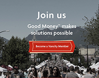 Vancity Landing Page