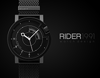 RIDER 1991 *watch design*