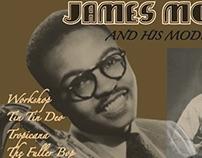 James Moody Record Design