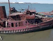 Arthur Kill Ship Graveyard | Aerial Video