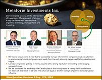 Metaform Investments Inc.