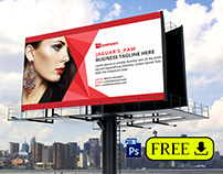 Free Billboard Template PSD