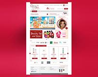 Beautytestbox Website/E-shop