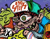 430 Steps Ilustración