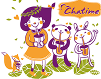 Chatime Bubble Tea Cup Design