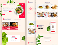 Free Download | Expice Restaurant Landing Page
