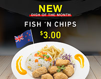 New dish of the month