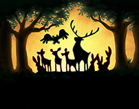 Tiere allein im Wald - Film