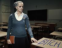 TELEFONO AZZURRO Stop Bullying | print