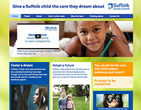 Suffolk Council Adoption microsite
