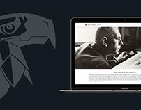 Biographic website of a German artist