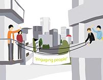 """Engaging People"" // Illustration"