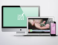 The Cute News - Title and show graphics