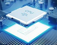 Arte sobre Processador Dual Core e Quad Core