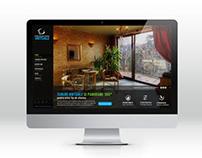 UI Design for Virtual Tour Platform