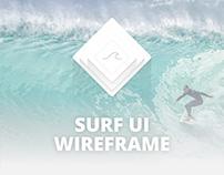 Surf App - UI Wireframe