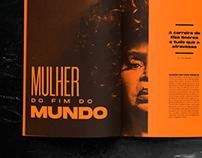Mulher do Fim do Mundo - Matéria // Editorial