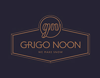 grigonoon dessert cafe branding system guidelines