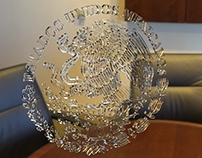 Escudo de Cristal 3D
