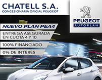 Diseño Grafico | Chatell S.A. | Peugeot