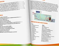 Broschürengestaltung für Energieunternehmen