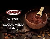 Morde Food - Website & Social Media (Pitch)