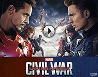 Captain America: Civil War promos