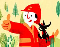 Bombeirito na Floresta (Book)